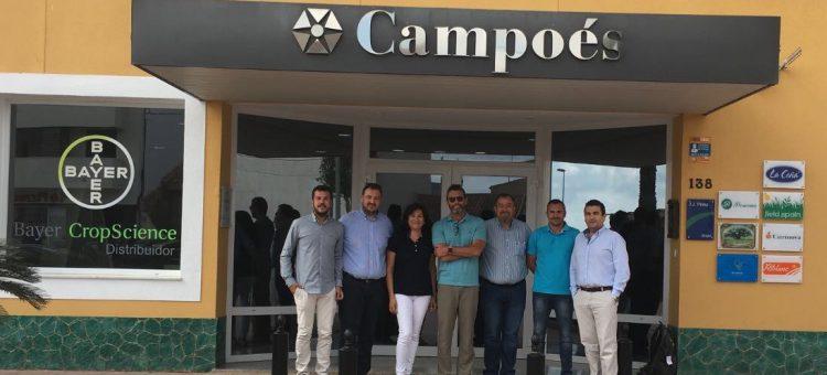 Monsanto visita Campoés